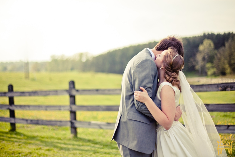 gray and yellow outdoor vintage wedding_060