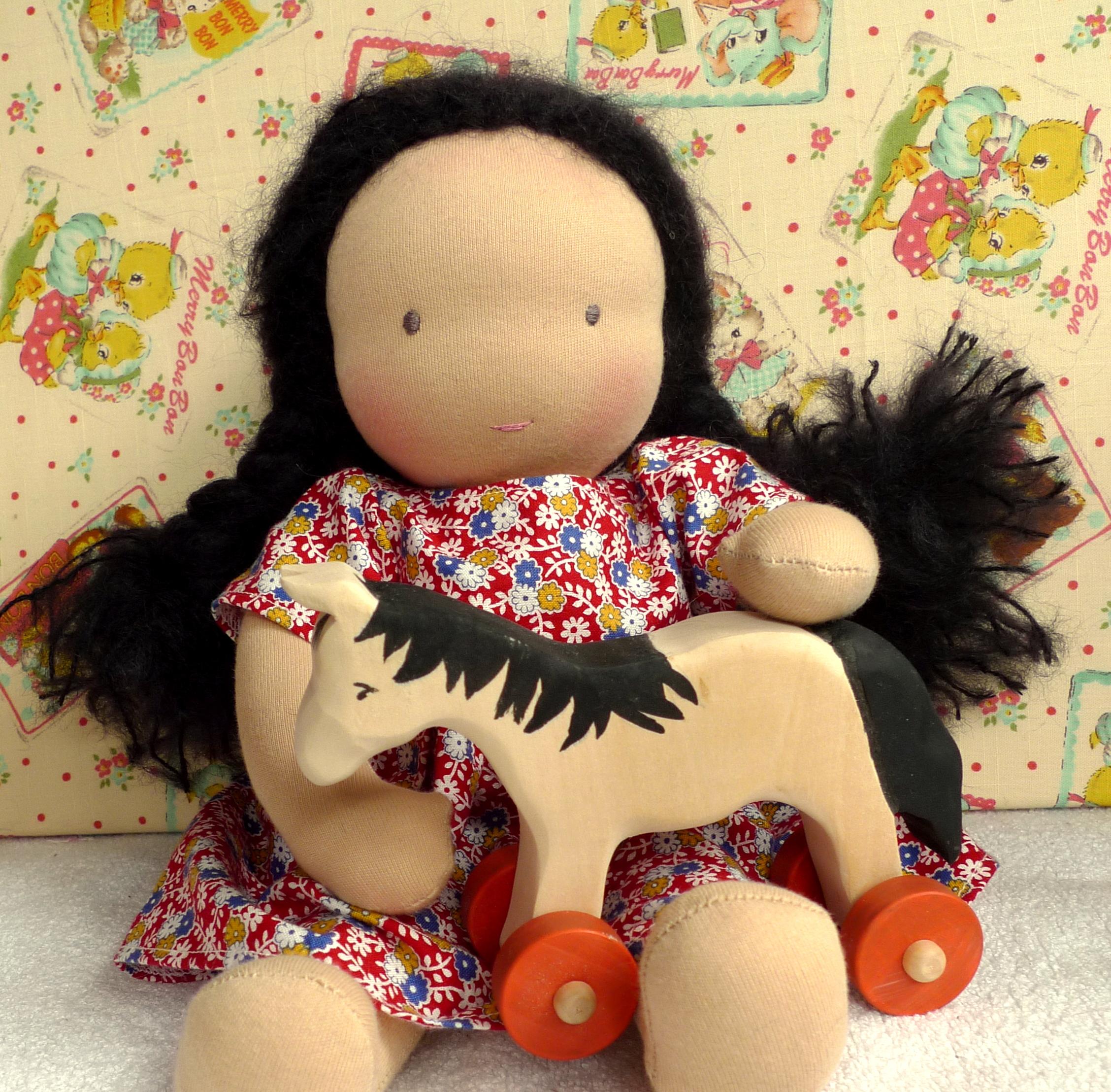 Andrea's doll