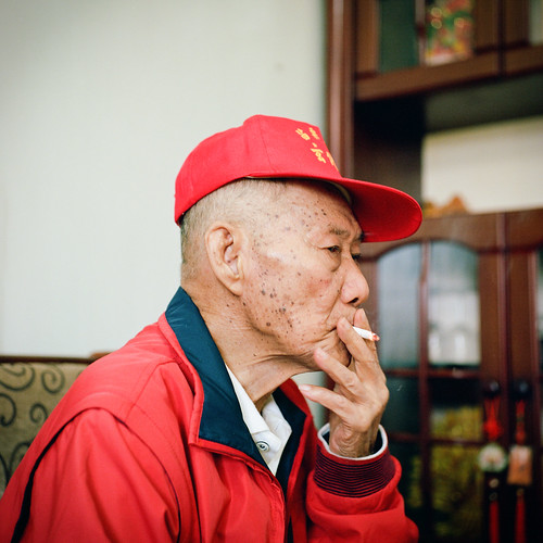 Smoking elder