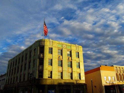 Downtown Beloit Sunset