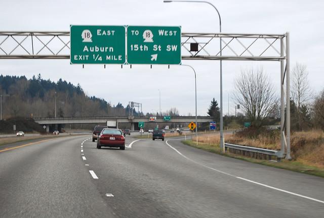 SR 167 @ SR 18