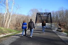 Entering the Bridge to Rose 'Island'