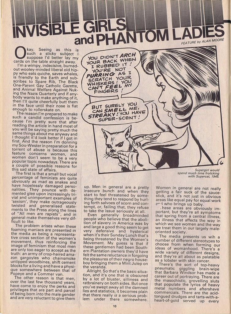 Sexism in Comics 1