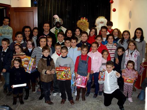 Los Reyes Magos visitan a los niños del Rescate (VIII)