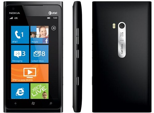 Nokia Lumia 900 black