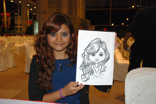 caricature live sketching for kidsREAD Volunteer Appreciation Day 2011 - 23