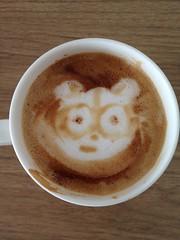 Today's latte, Seesmic.