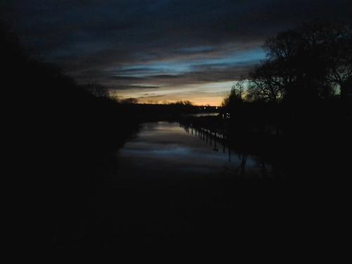 Bridge Over The River Thames by johnnybravorichard