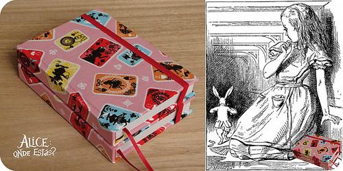 Alice nas cartas!