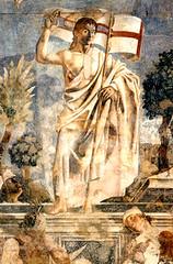 Andrea de Castagno (1447), Cristo resucitado