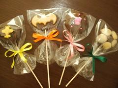 Blog de chocolatesecia : Ovos de P�scoa caseiros 2012 - Nova tabela disponivel!!!, Pirulitos de Chocolates personalizados