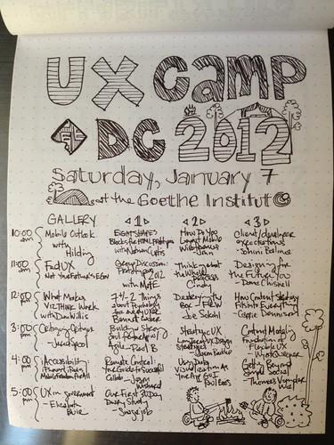9:00am, UXCamp DC 2012 kickoff!