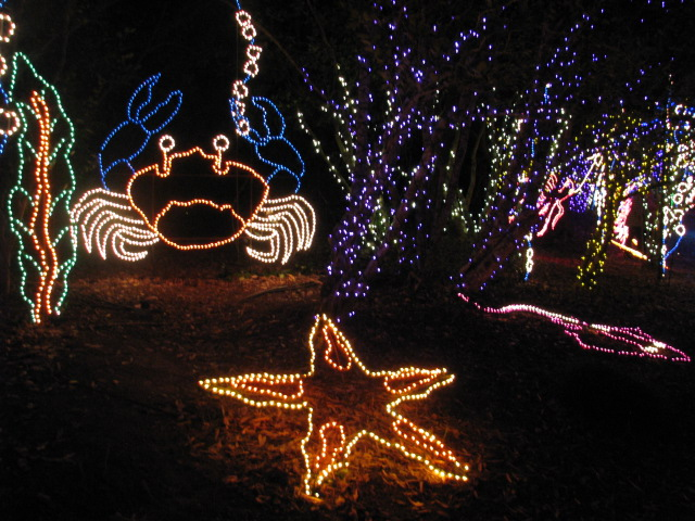 Christmas Lights At Bellingrath Gardens Mobile Alabama