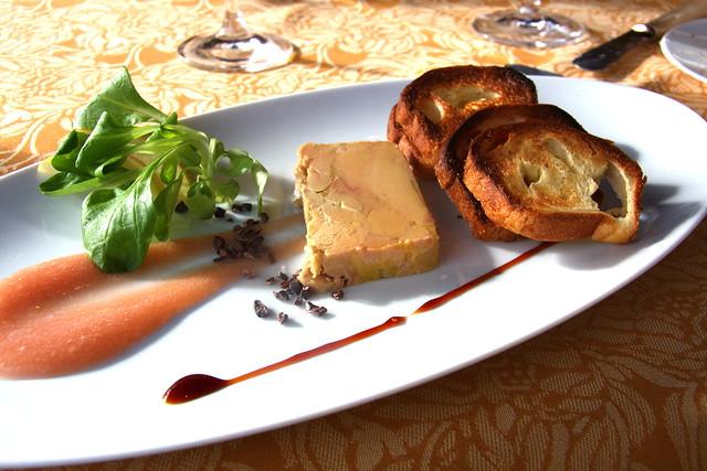 Foie gras while it lasts