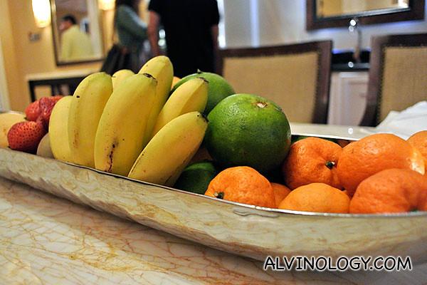 Fresh fruits!