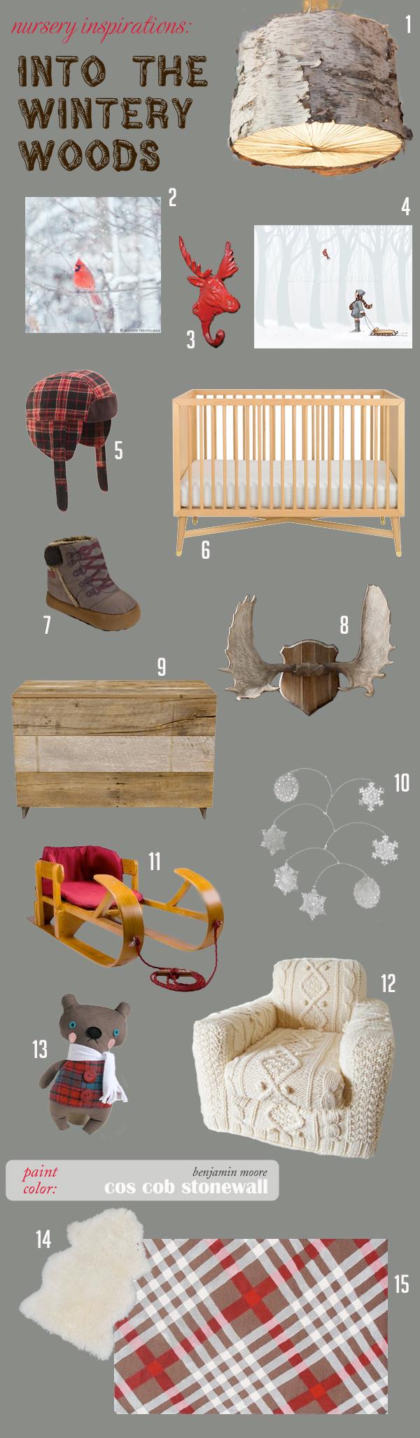nursery-inspiration-board-into-the-wintery-woods