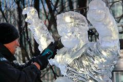 London Ice Sculpting Festival  Hungarian Sculptor-206