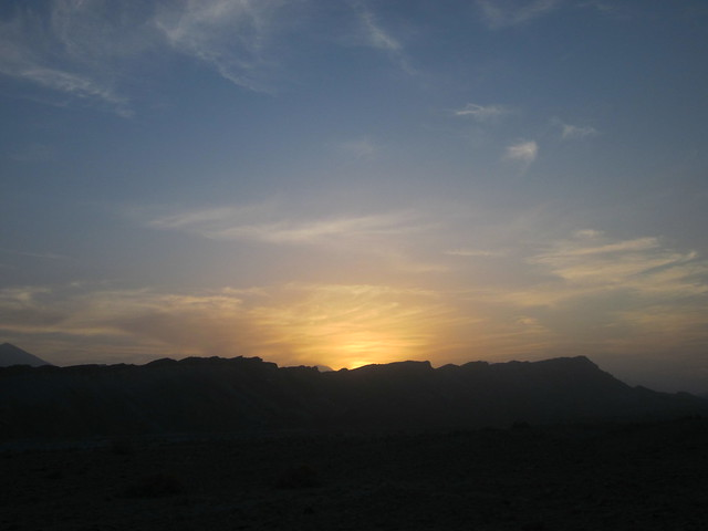 sunset in Hormoz, Iran