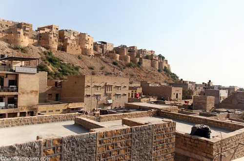 View of the Jaisalmer Fort from our hotel