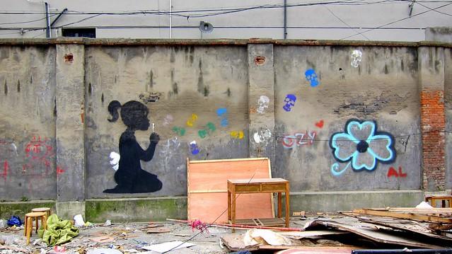 moganshan viertel shanghai 2012 - künstler unbekannt