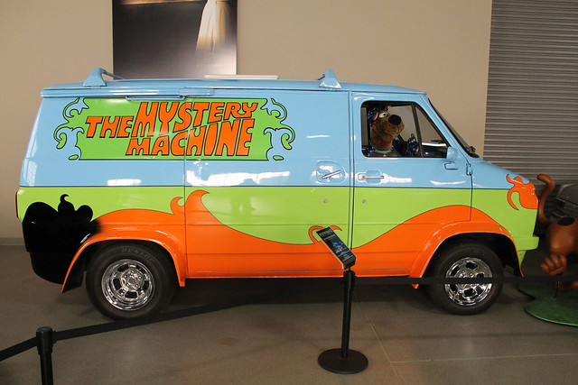Scooby Doo Mystery Machine Van http://www.flickr.com/photos/lorenjavier/6729095935/