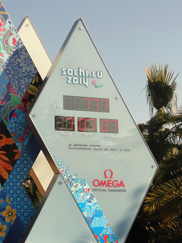 777 days 7 hours 7 minutes 7 seconds till 2014 Winter Paralympic Games