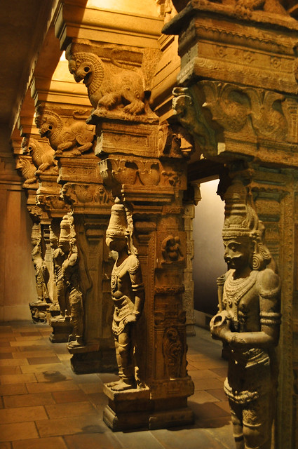 Pillared Temple Hall