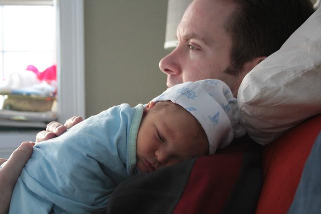 Daddy Snuggle