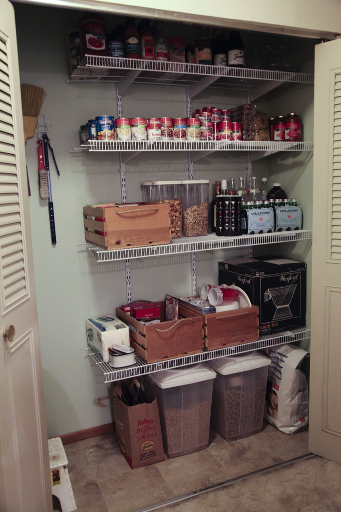 Well-known From Messy Hall Closet to Pantry - The Lovely Geek LC71