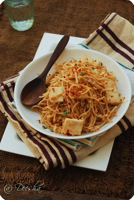 Garlic & Tofu Noodles 2