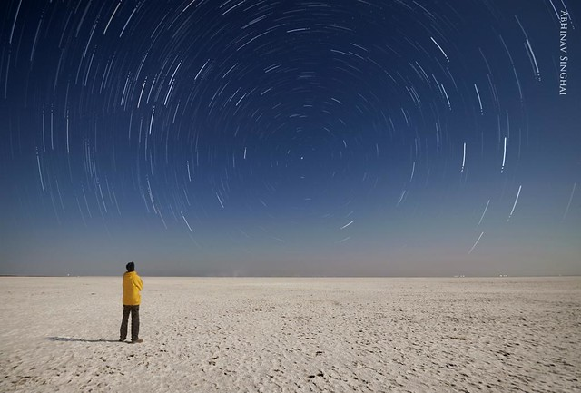 Watching the Earth Rotate-White Rann of Kutch