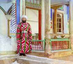 Central Asia, Boukhara or Samarkand, travels by Sergueï Prokoudine-Gorsky and Russian Empire possessions