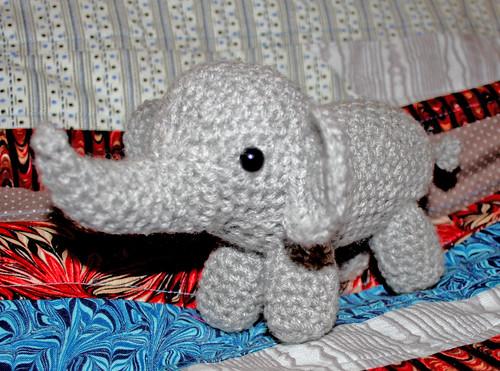 Elephant Amigurumi 3