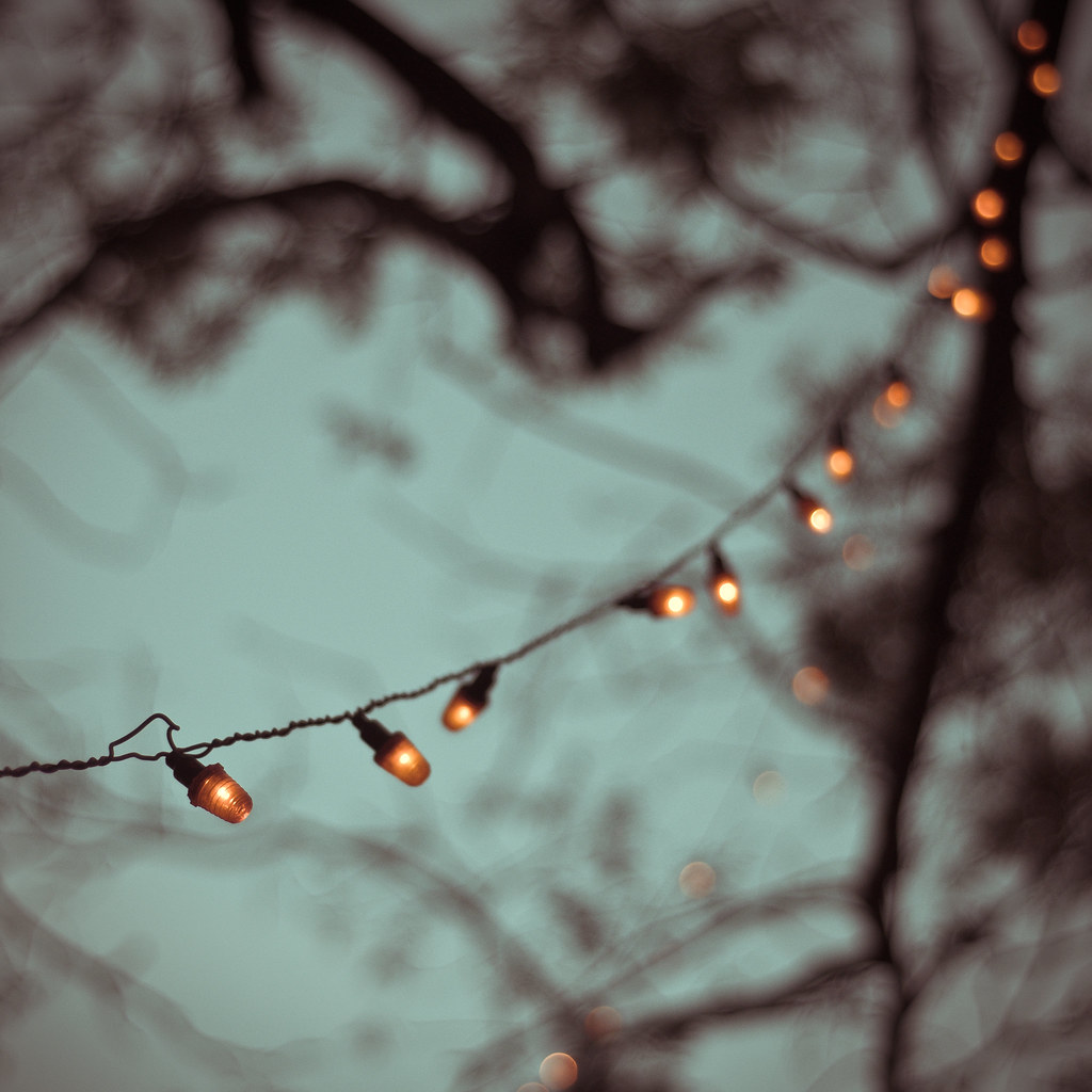 String Lights Bokeh iJuhi Photography