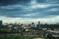 Trouble over Nairobi