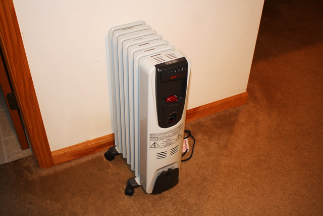 old heater