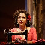 Andrea Martin as Serafina delle Rosa in the Huntington Theatre Company's production of The Rose Tattoo presented at the BU Theatre / Avenue of the Arts. Part of the 2003-2004 season. Photo Credit: T Charles Erickson