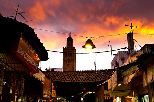 The Old Medina at Dusk