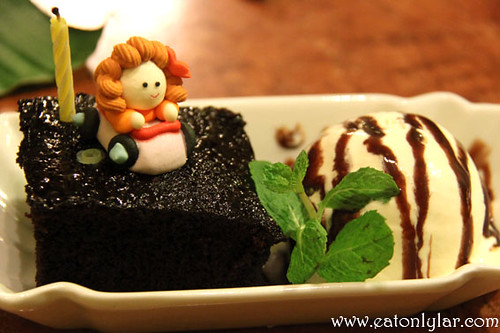 Homemade Moist Chocolate Cake, Erawan Classic Thai & Fusion