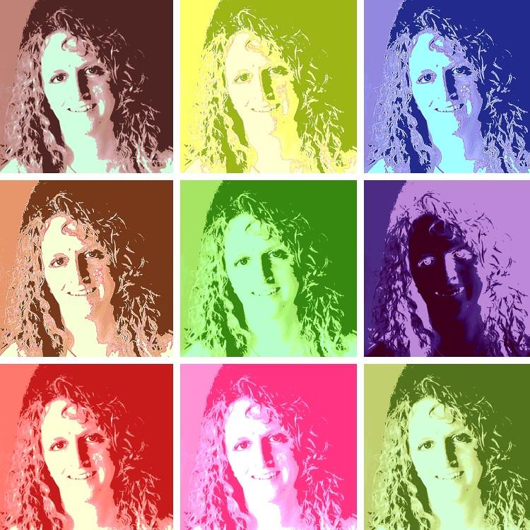Repeating pattern - selfie