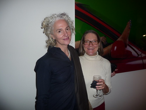 Joan Bankemper and Anne Wallace
