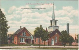 M.E. Church, Parsonage PM 1914