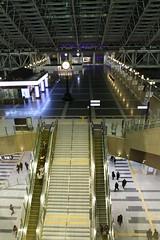sport venue(0.0), public transport(0.0), auditorium(0.0), convention center(0.0), stadium(0.0), arena(0.0), escalator(1.0), infrastructure(1.0),