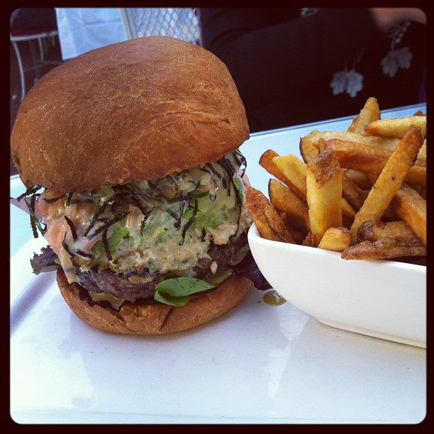 26 Beach California Roll Burger