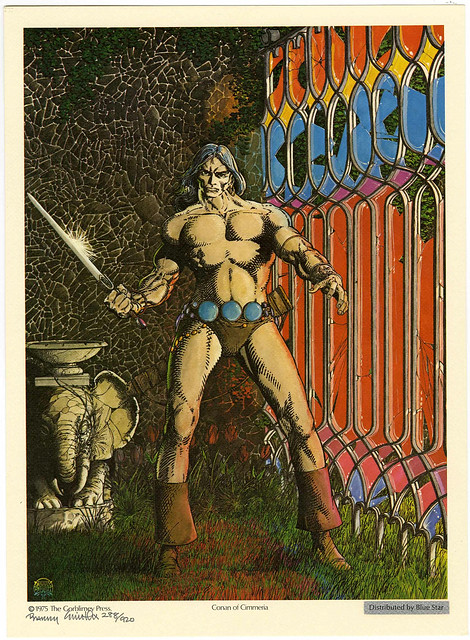 Conan - Barry Windsor Smith Robert E. Howard Portfolio