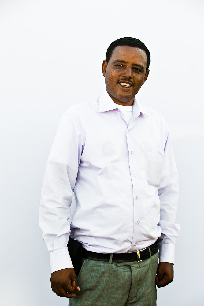 Abebaw Gessese, Poultry Farm Owner