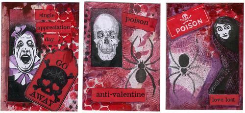Bloody Valentine ATCs #4-6