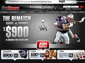 Bet Online Sportsbook Home