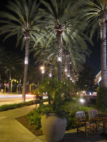 In Anaheim! Garden Walk! 2