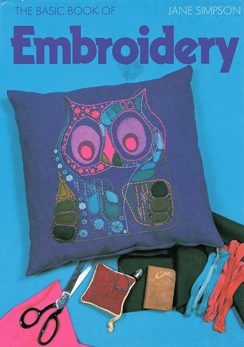 bird-embroidery owl cushion
